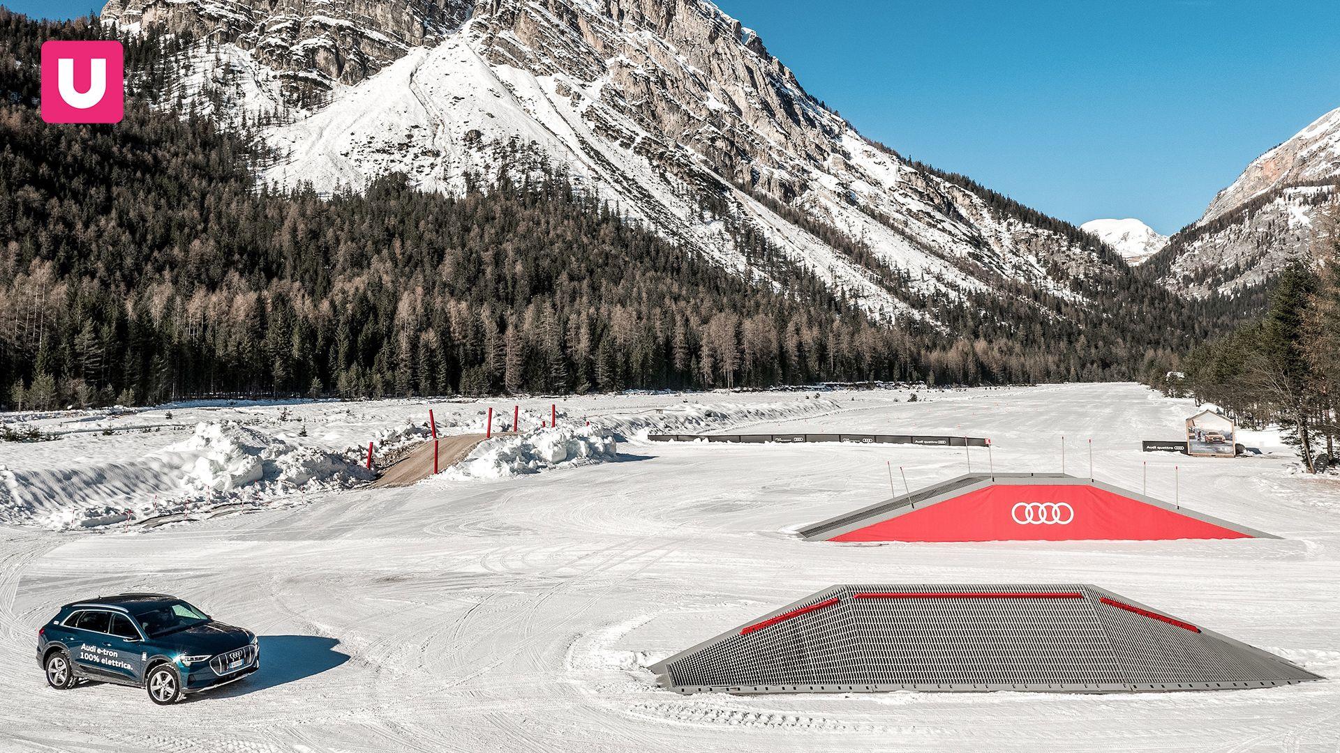 Mobilità sostenibile con Audi a Cortina