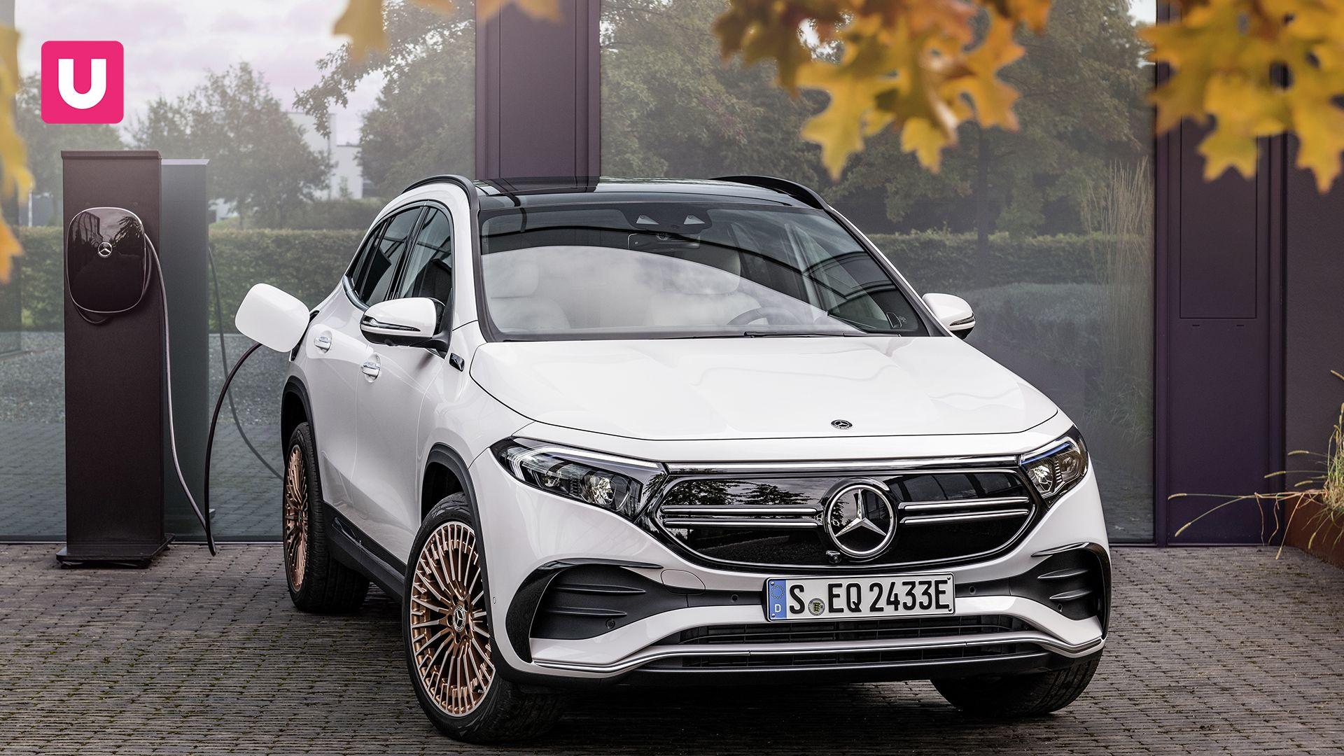 Mercedes EQA, il crossover silenzioso