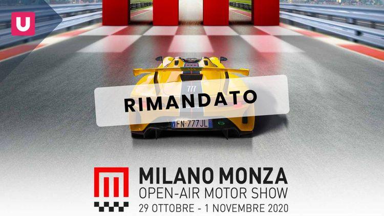 Il Milano Monza Motor Show 2020 non s'ha da fare